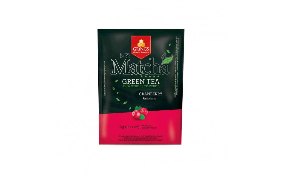 Matcha Fruit Sabor Cranberry Grings 6g